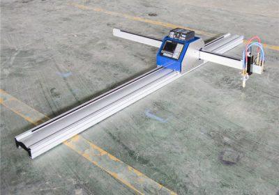 स्टेनलेस / स्टील / कूपर प्लेटसाठी सीएनसी प्लाझमा टेबल काटींग मशीन