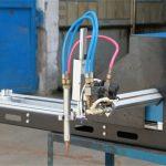 मिनी गॅन्ट्री सीएनसी प्लाझमा कटिंग मशीन / सीएनसी गॅस प्लाझमा कटर