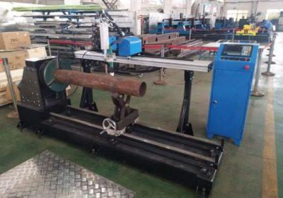 नवीन उत्पादन पोर्टेबल सीएनसी प्लाजमा स्टेनलेस स्टील पाइप कटिंग मशीन
