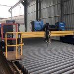 युरोपियन गुणवत्ता सीएनसी प्लाजमा आणि ज्वाळा कटिंग मशीन / धातूसाठी प्लाझमा सीएनसी कटर मशीन