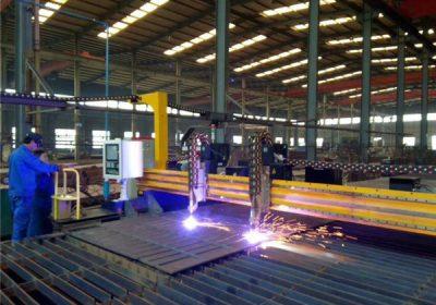 चीन मेटल कटिंग मशीनरीमध्ये कार्बन स्टील सीएनसी प्लाझमा कटर तयार केले